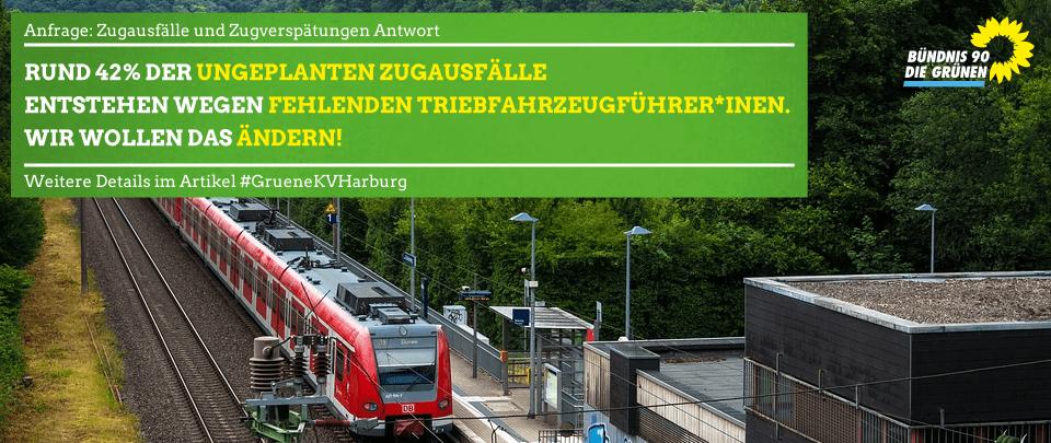 Zugausfälle und Zugverspätungen