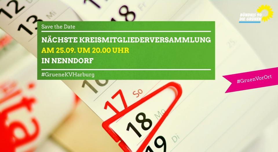 Save the Date: Nächste Kreismitgliederversammlung am 25.09!