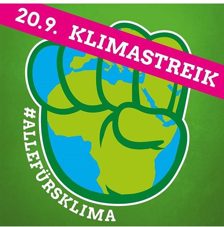 Mit dem Bus zum Klimastreik am 20.09.2019
