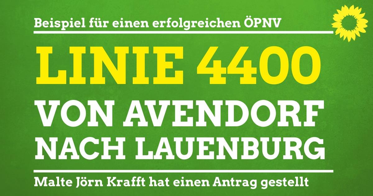 Linie 4400 von Avendorf soll nach Lauenburg führen
