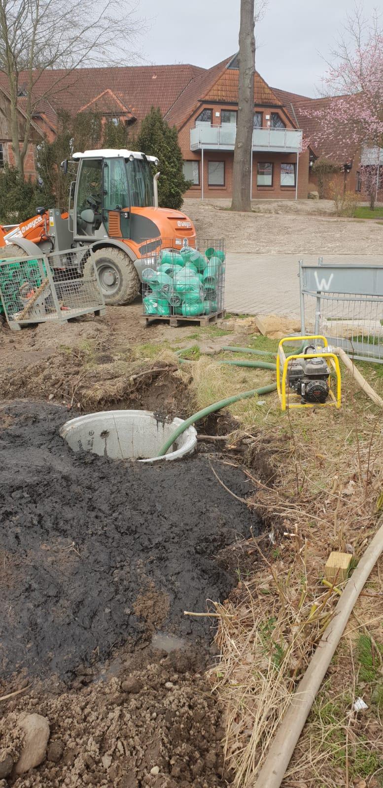 Ist die Trockenlegung des Teichs in Hollenstedt ein Verstoß gegen das nds. Wassergesetz?