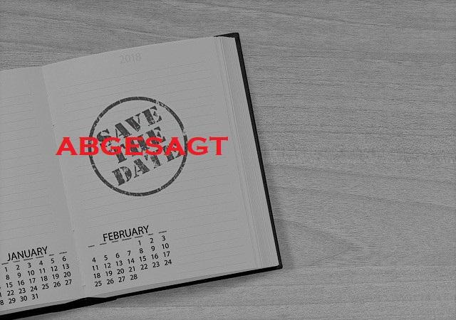 Abgesagt: Klausurtagung und Mitgliederversammlung  am 28.03.