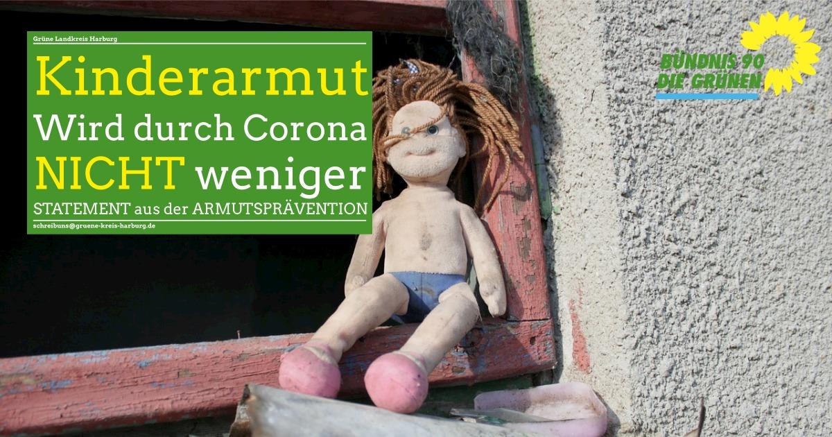 Corona Krise: Statement zur Kinderarmut