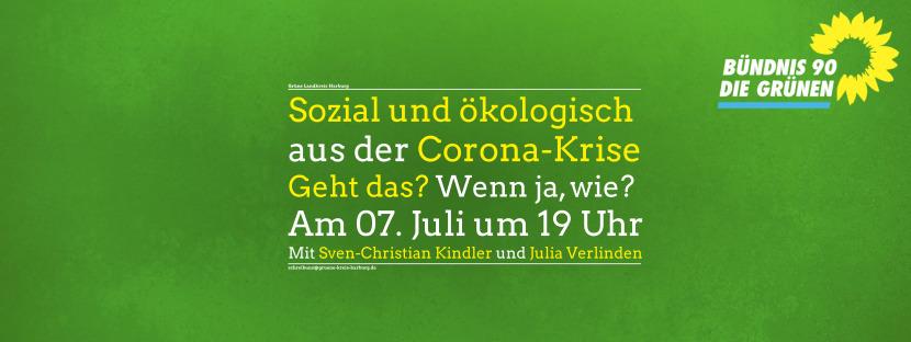 Einladung zum Onlineseminar: Sozial und ökologisch aus der Corona-Krise