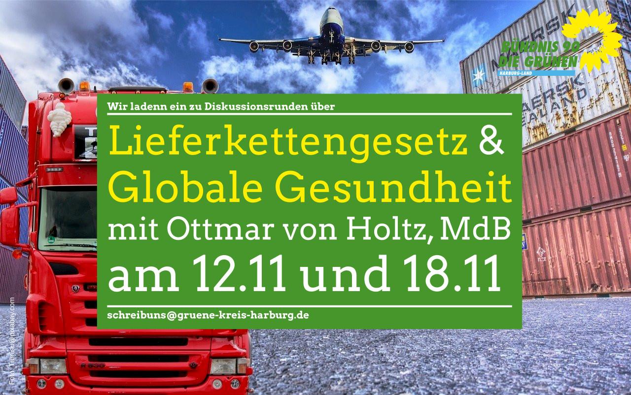 Lieferkettengesetz & Globale Gesundheit mit Ottmar von Holtz, MdB