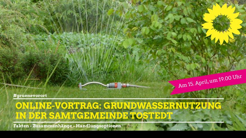 Online-Vortrag: Grundwassernutzung in der Samtgemeinde Tostedt / Landkreis Harburg