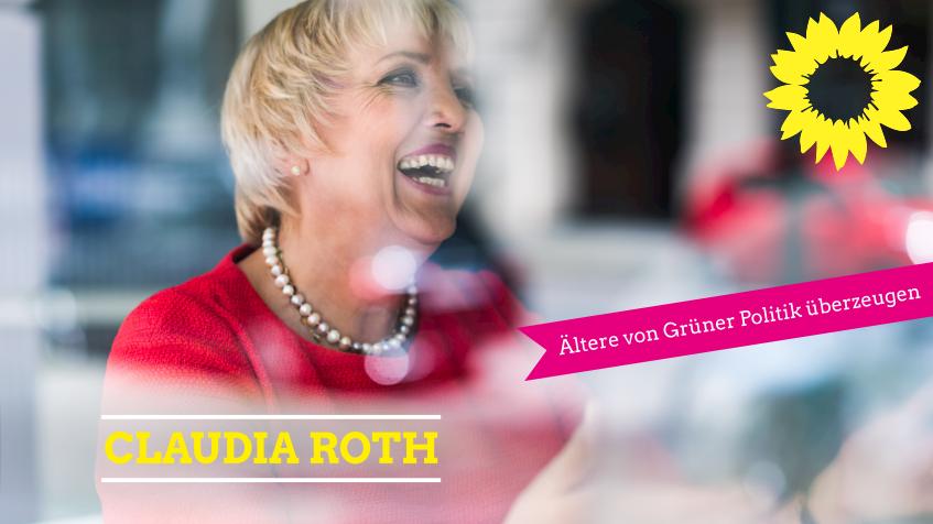 Claudia Roth bei den Grünen Alten