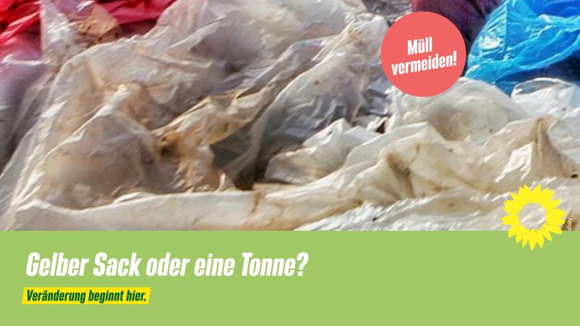 Gelber Sack, Gelbe Tonne, Wertstofftonne – Qual der Wahl?
