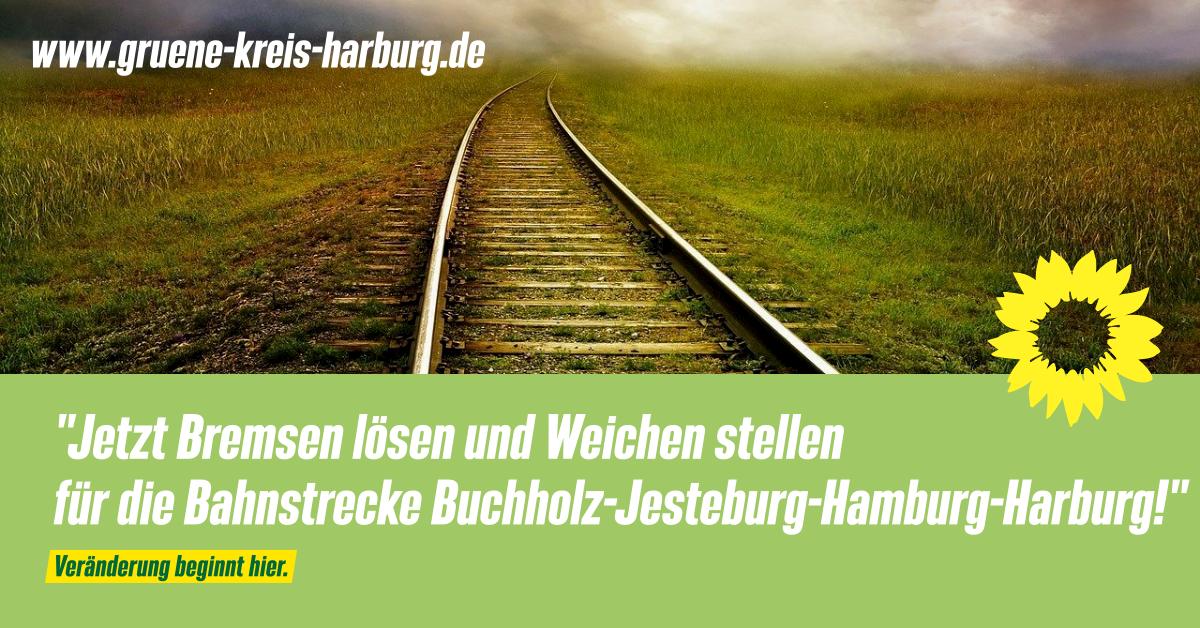 """Schulz-Hendel: """"Jetzt Bremsen lösen und Weichen stellen für die Bahnstrecke Buchholz-Jesteburg-Hamburg-Harburg!"""""""