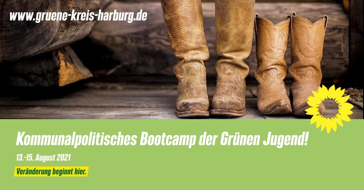 Kommunalpolitisches Bootcamp der Grünen Jugend: 13.-15. August 2021