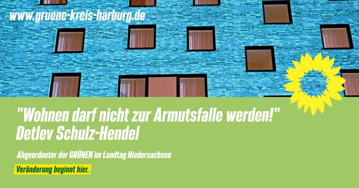 Schulz-Hendel: Grüne wollen mehr Sozialwohnungen im Landkreis Harburg