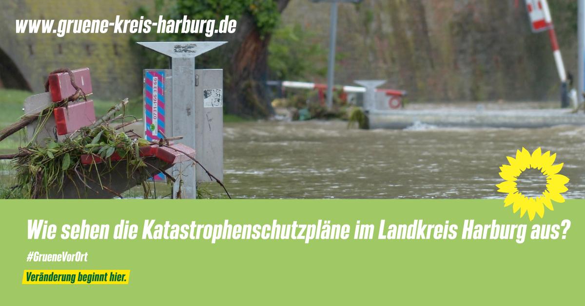 Wie sehen die Katastrophenschutzpläne im Landkreis Harburg aus?