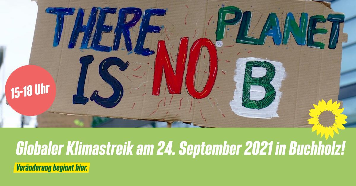 Globaler Klimastreik am 24. September 2021 in Buchholz!